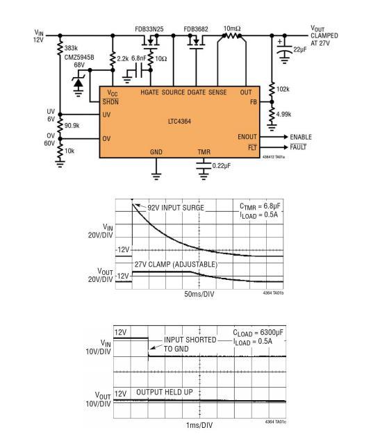 涌浪电路安装图