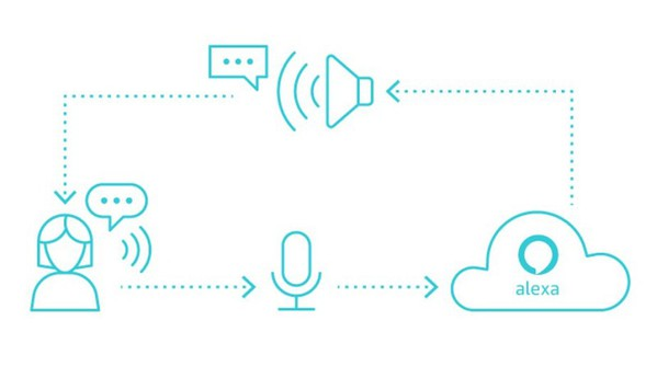 圖二 :  Amazon公司的Alexa Voice Services(AVS)