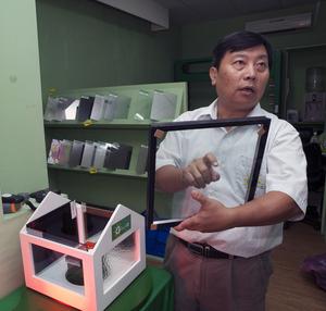 台灣節能膜總經理吳鐵漢,從「奈米科技」的角度,看綠能科技產業的下一個契機。