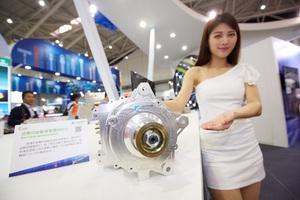 工研院於2017台灣國際車用電子展中展示多項車輛節能技術。