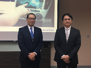 瑞薩電子參展「台北國際車電展」,並分享瑞薩在車用電子的市場布局及最新技術。