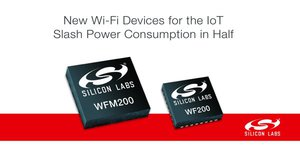 Silicon Labs 新型 IoT Wi-Fi 元件使功耗減半。