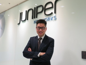 Juniper Networks亞太區產品技術總監梁定康