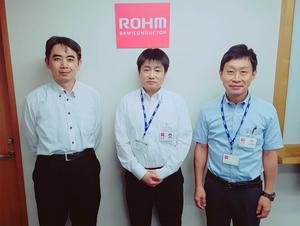ROHM開發處理器專用電源管理IC,能夠減少45%的安裝面積。