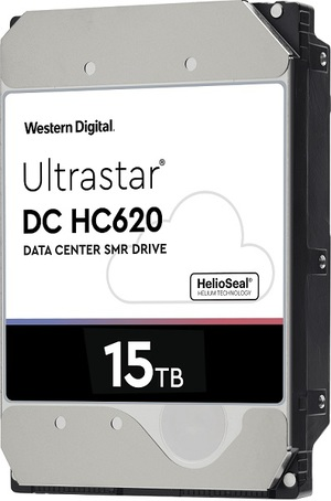Western Digital推出業界最高容量的15TB Ultrastar DC HC620 Host-Managed SMR 硬碟