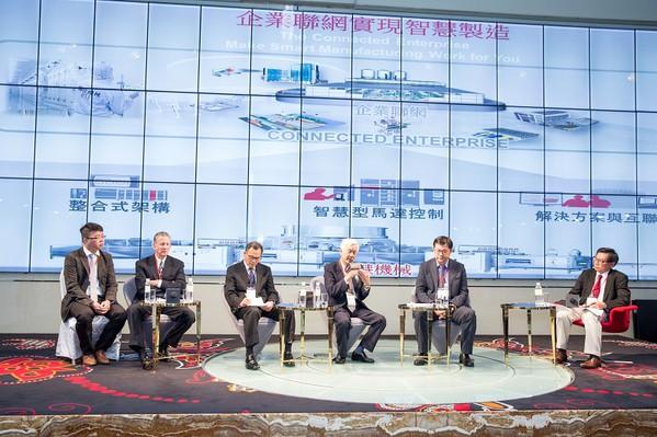圖2 : 「洛克威爾自動化大學」邀請業界指標性人士,深入討論台灣業者在智慧製造浪潮中的機會與商機。(照片提供/洛克威爾)