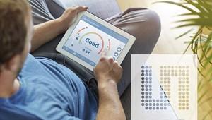 CCS811 和 CCS801評估套件內建相對濕度/溫度感測器,使用PC使用者軟體即可輕易進行設置和操作。