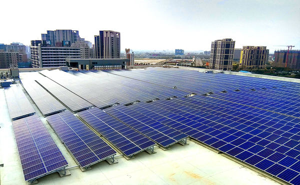 AUO Delivers All-Round Solar Power Plants Ranging from Rooftop