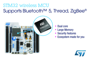STM Collaborates with Amazon Web Services on STM32-Based IoT Node-to